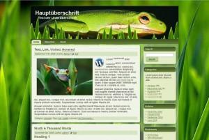 froggy2010 Theme WordPress Drupal Joomla HTML CSS