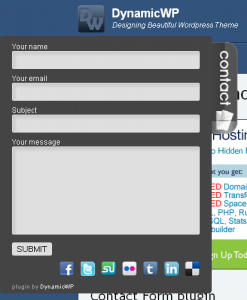 DynamicWP Contact Form Plugin