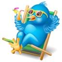 Tweet in Stuhl
