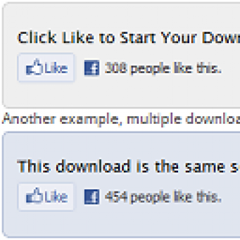 FacebookLiketoDownload