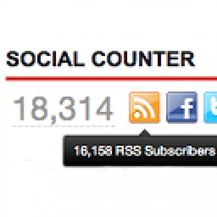SocialCounter