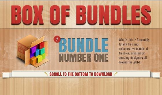Box of Bundles - Jeden Monat kostenlose Designelemente