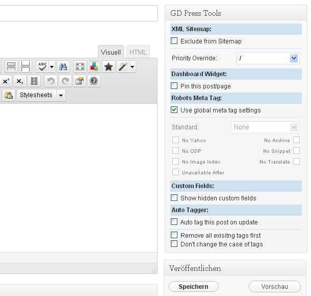 GD Press Tools Pro für WordPress Editor Erweiterungen