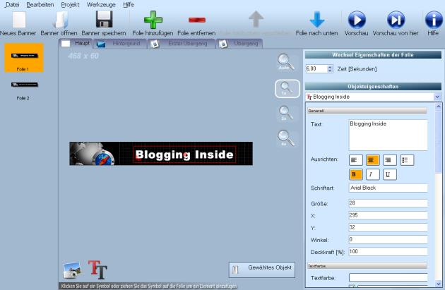 Banner Effects Screenshot