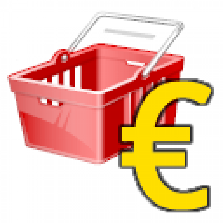 ShoppingGeldRot