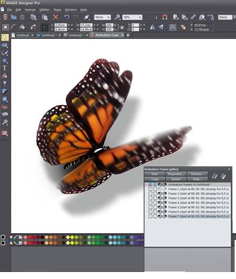 Animation mit Xara Designer Pro X