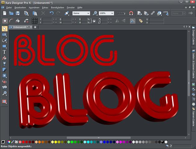 Einfache Konvertierung in 3D-Text mit einem Klick