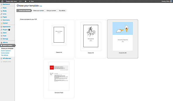 Erstellen des E-Book Titels