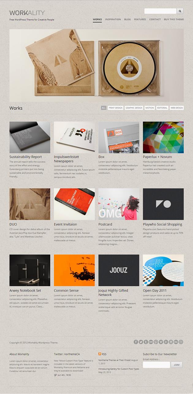 Workality Premium WordPress Theme
