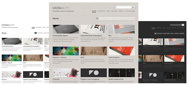 Die Workality Farb- Variationen