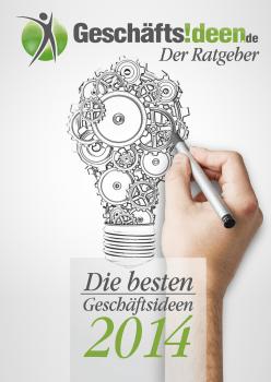 Geschäftsideen.de Titelbild Ratgeber Die besten Geschäftsideen 2014