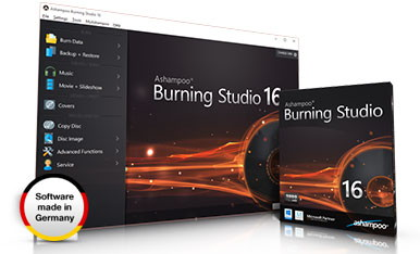Ashampoo ® Burning Studio 16